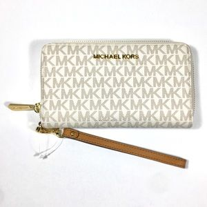 Michael Kors Jet Set Travel Large Flat phone Case